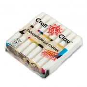 Полимерная глина Craft&Clay CCH 52г.  белый 1001