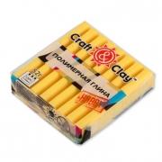 Полимерная глина Craft&Clay 52г. лимонный 1008