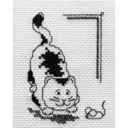 """Набор для вышивания """"Кошки-мышки"""" D-0509 9.5х12см"""
