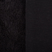 Плюш PLF 50х50 см черный