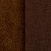 Плюш PLF 50х50 см коричневый