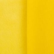 Плюш PLF 50х50 см желтый