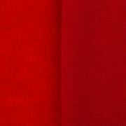 Плюш PLF 50х50 см красный