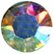 Термоклеевые стразы Zlatka RS SS30 Crystal 6.5 мм перламутр (144 шт.)