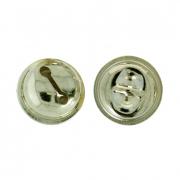 Бубенчики NI-10 10 мм под золото (10 шт.)