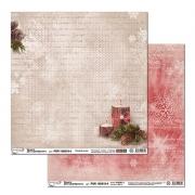 Бумага двусторонняя PSR 150810-4 30х30см (2 листа)