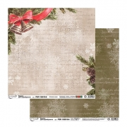 Бумага двусторонняя PSR 150810-6 30х30см (2 листа)