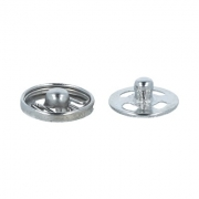 Кнопки пришивные KL-082 8.2мм (10шт.) никель