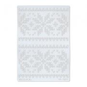 Трафарет TFR-10 11.5х16.5см Вязаный орнамент