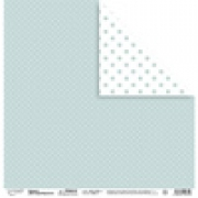 """Бумага для скрапбукинга  190 г/м2 30.5x30.5 см, 104 """"Крупные точки"""" (2листа)"""