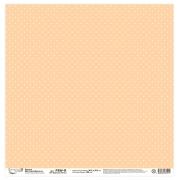 """Бумага для скрапбукинга 190 г/м2 30.5x30.5 см, 107 """"Крупные точки"""" (2листа)"""