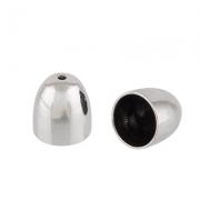 Концевик FMK-E06 9.5х10мм (2шт.) серебро