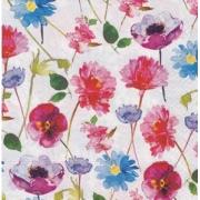 """Салфетка """"Акварельные цветы-3"""" (3 шт.)"""