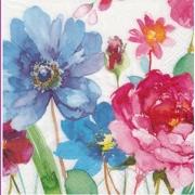"""Салфетка """"Акварельные цветы-4"""" (3 шт.)"""