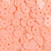 Пайетки ZF-25 6 мм 10 г светло-розовый 061