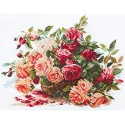 """Набор для вышивания """"Розы"""" 2-06"""