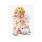 """Набор для вышивания """"Ангел-хранитель"""" 0-146 10х14 см"""