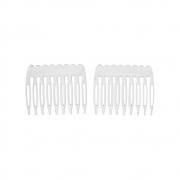 Заготовка для гребня пластик HCJ-01 4.5х4см прозрачный (2шт.)