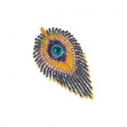 """Набор для плетения из бисера  """"Перо павлина"""" АА 07-151"""
