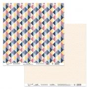 Бумага двусторонняя PSR 180105-5 30х30см (2 листа)