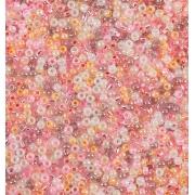 Бисер TOHO 10/0 25 граммов №10 ассорти жемчужный розовый