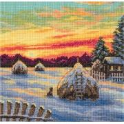"""Набор для вышивания """"Зимние сумерки"""" PS-7121 16.5х16.5см"""