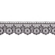 Гипюр GGM-3501 35 мм, серый, 1 метр