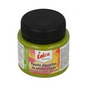 """Краска акриловая по ткани и коже """"VISTA-ARTISTA"""" idea ITA-50 50 мл 627/Зелёное яблоко"""