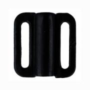 Застежка для бюстгалтеров ZP-09 9мм (3шт.) черный
