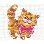 """Набор для вышивания """"Котик"""" 15-07 10х12см"""