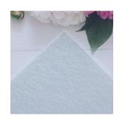 Фетр Китай жесткий 20х30см 2мм Белый (1 лист)