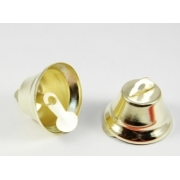Колокольчики 18 мм под золото (10 шт.)
