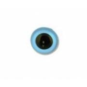 Глаза пластик CRP-12 12мм пришивные (пара) светло-голубые