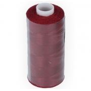 """Швейные нитки (полиэстер) 20/2 """"Gamma""""  Micron 200 я  183 м цвет №123 т.бордовый"""