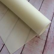 Фоамиран зефирный 1мм 60х70см молочный 1 сорт (1 лист)