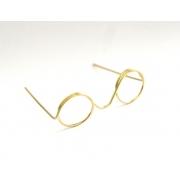 Очки без стекла металл 11мм