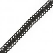 Кружево 6307-1.03 20мм черный (1м)