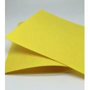 Фетр 20х30 см 1 мм жесткий желтый