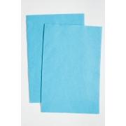 Фетр Китай мягкий  20х30 см 1мм голубой № 090 (2 листа)