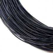Канитель жесткая 1мм Black 0046 (1метр)