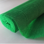 Гофрированная бумага 180г/м2 №563 0.5х2.5м Зеленая (Италия)