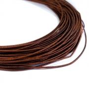 Канитель жесткая 1мм Antique copper (1метр) 0272