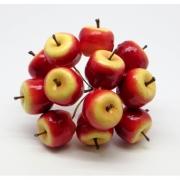 Искусственные фрукты: яблоки 075 (2шт.)