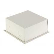 Коробка для торта 21х21х10 см