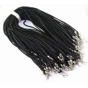 Шнур плетеный 3мм с замком (45 см)