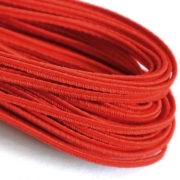 Сутаж 2.5 мм красный (5 м)