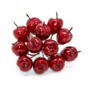 Искусственные фрукты: красный ранет DKB159 (12шт.)