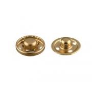 Кнопки пришивные KLM-085 8.5мм (10шт.) золото