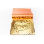 Поталь Decola 14х14см, 25 листов, золото