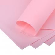 Фоамиран шелковый 1 мм 50х50см светло-розовый